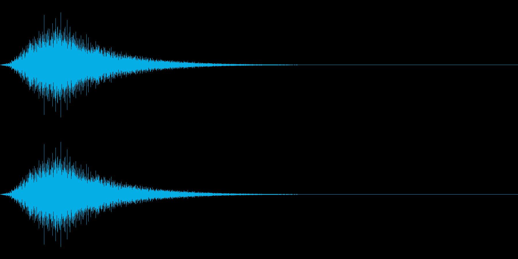 パワーアップ/チャージ/スピードアップの再生済みの波形