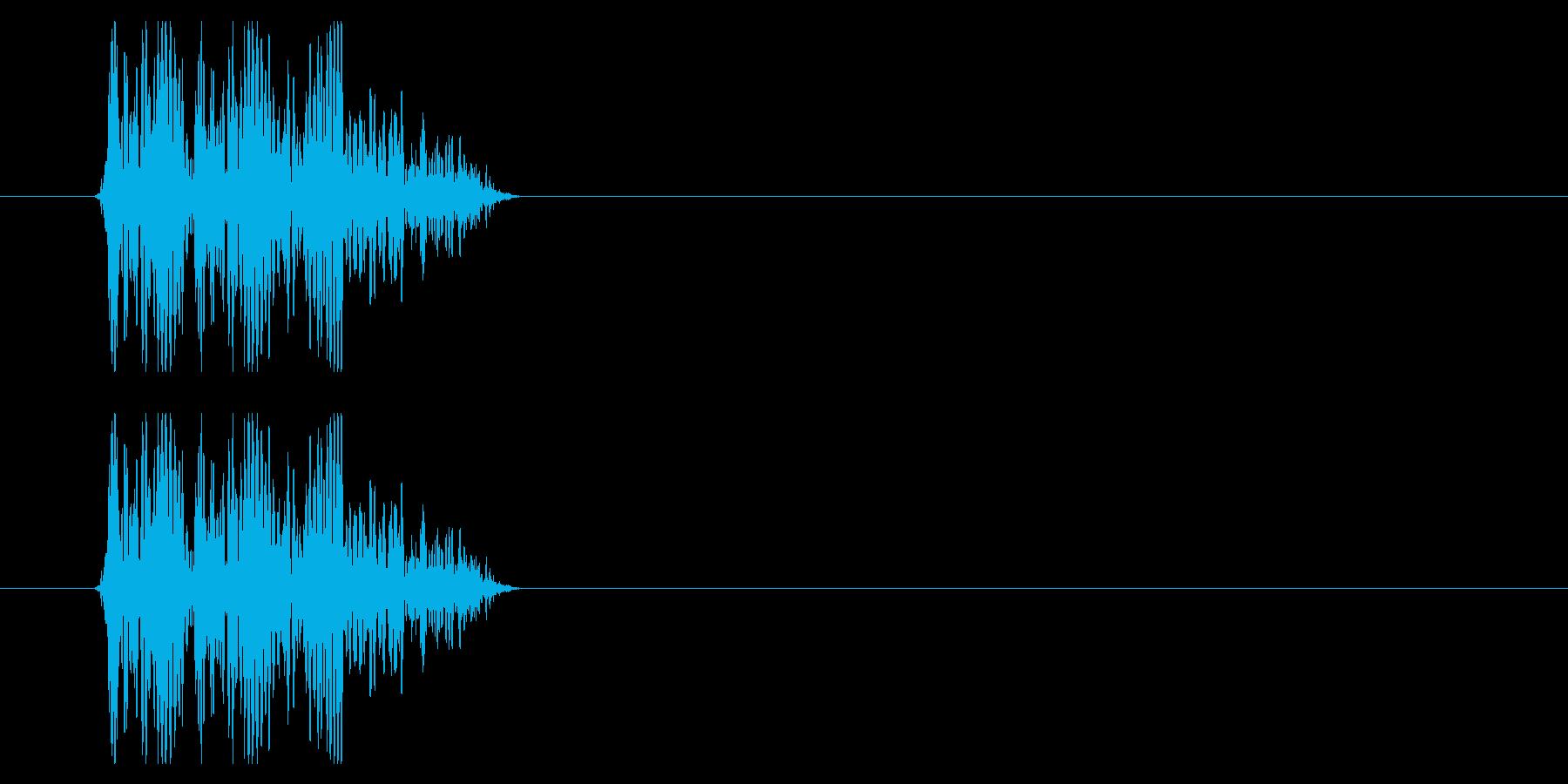 SNES 格闘05-09(倒れる)の再生済みの波形
