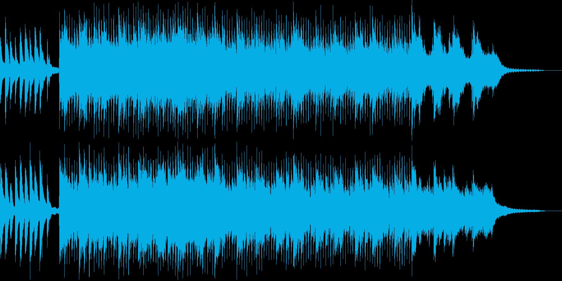 ギターとピアノの可愛い子守唄の再生済みの波形