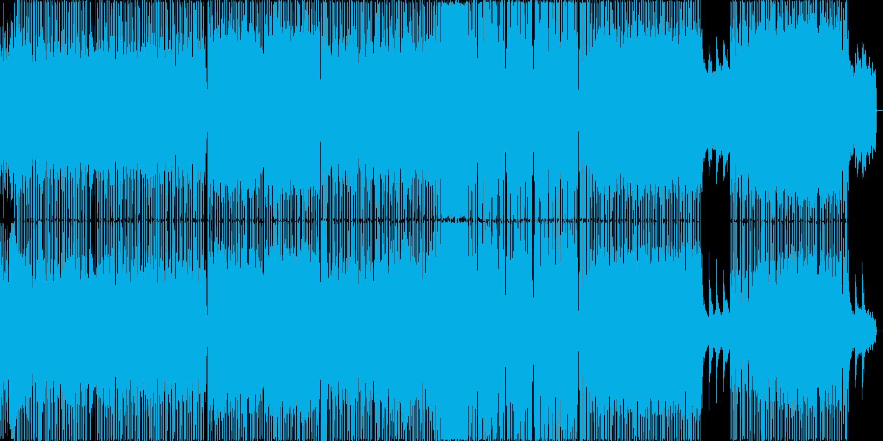 ゆるく優しいポップなHIPHOPビートの再生済みの波形