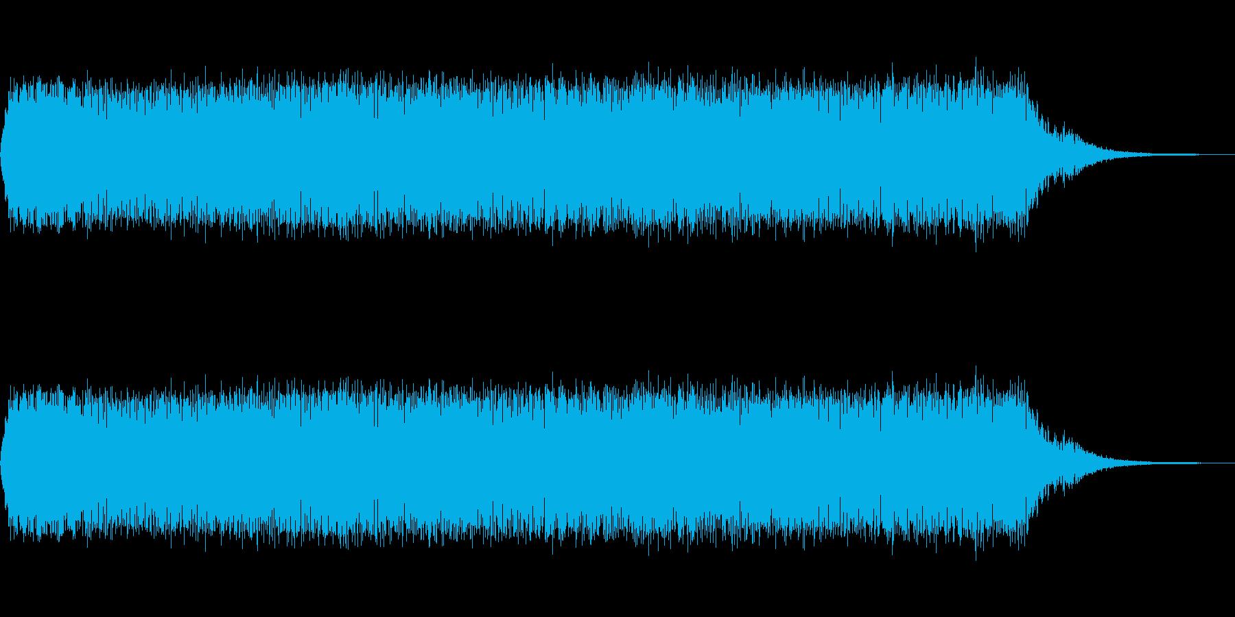 ビーム発射音「ビーッ!」の再生済みの波形