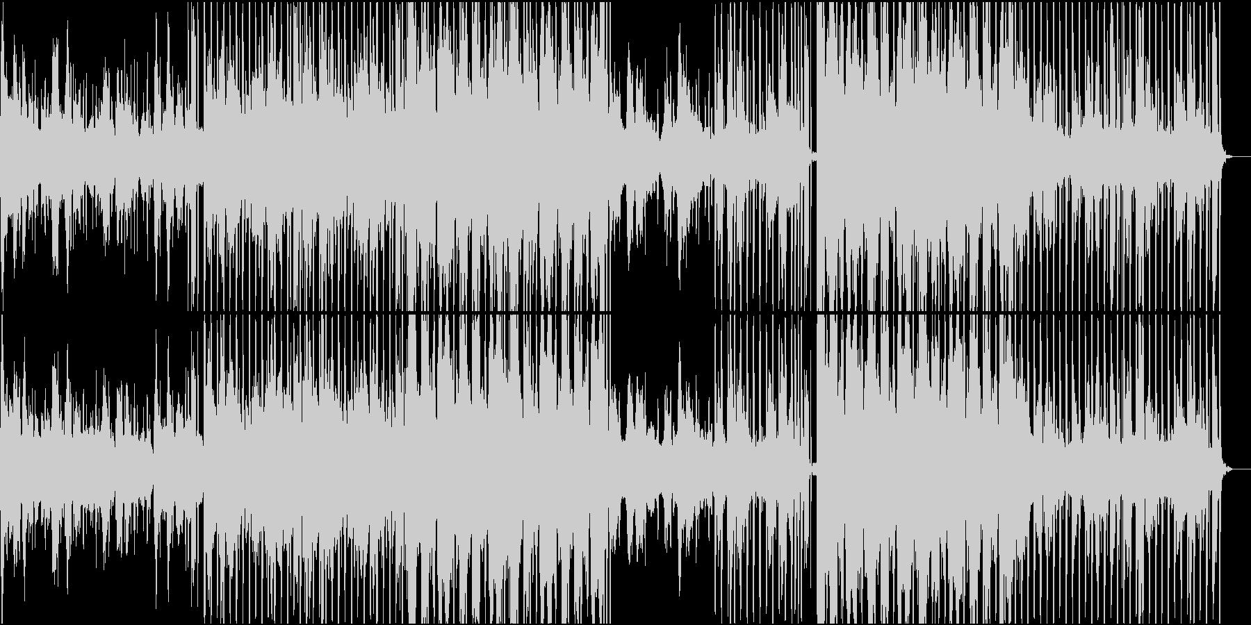 少し怪しげなシンセウェーヴの未再生の波形