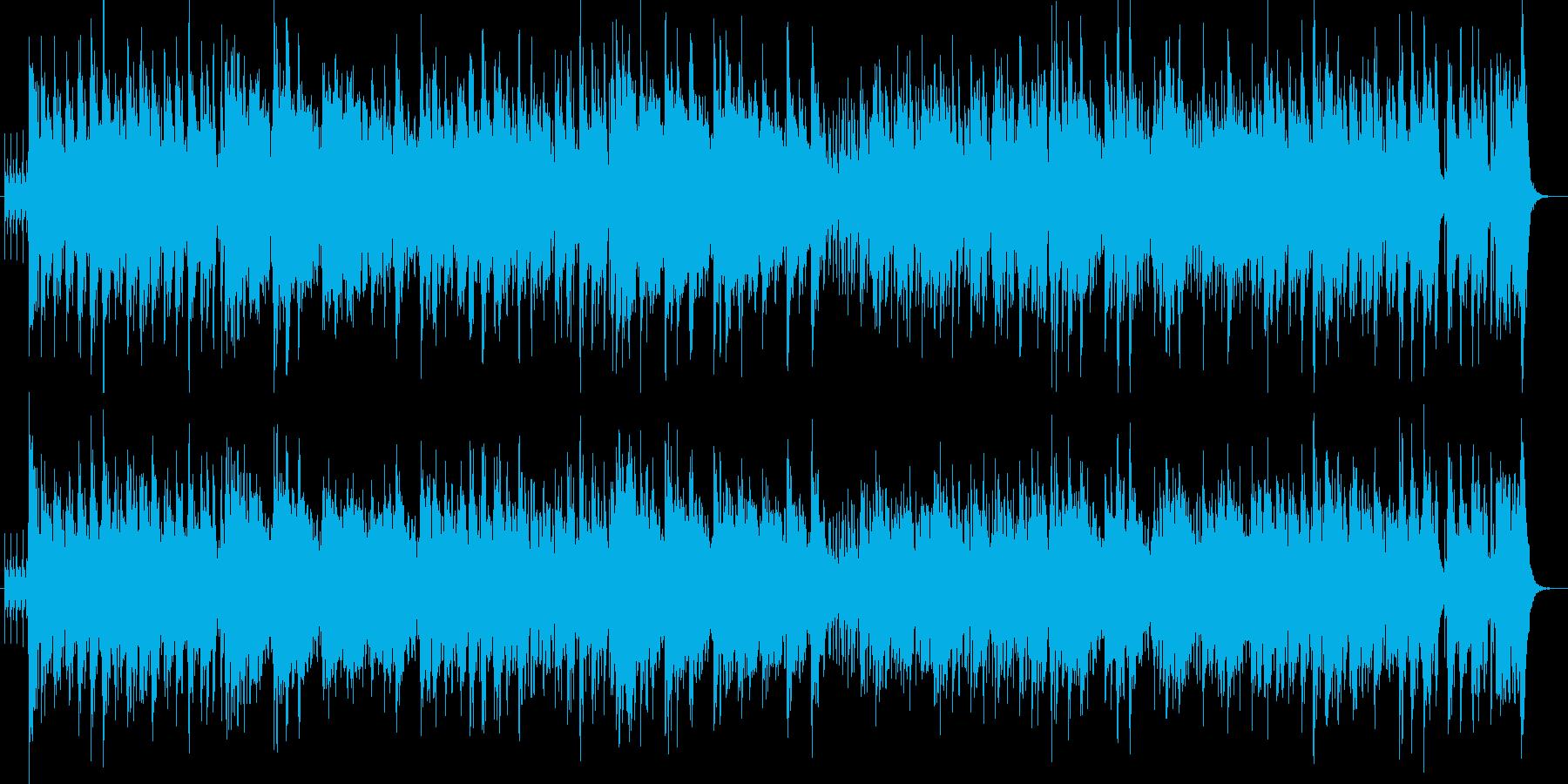 渋谷系ジャズスキャット60's ダバダバの再生済みの波形