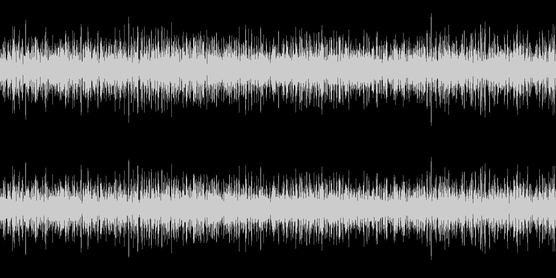 換気扇 ファンの回転音 ループ素材 ゴーの未再生の波形