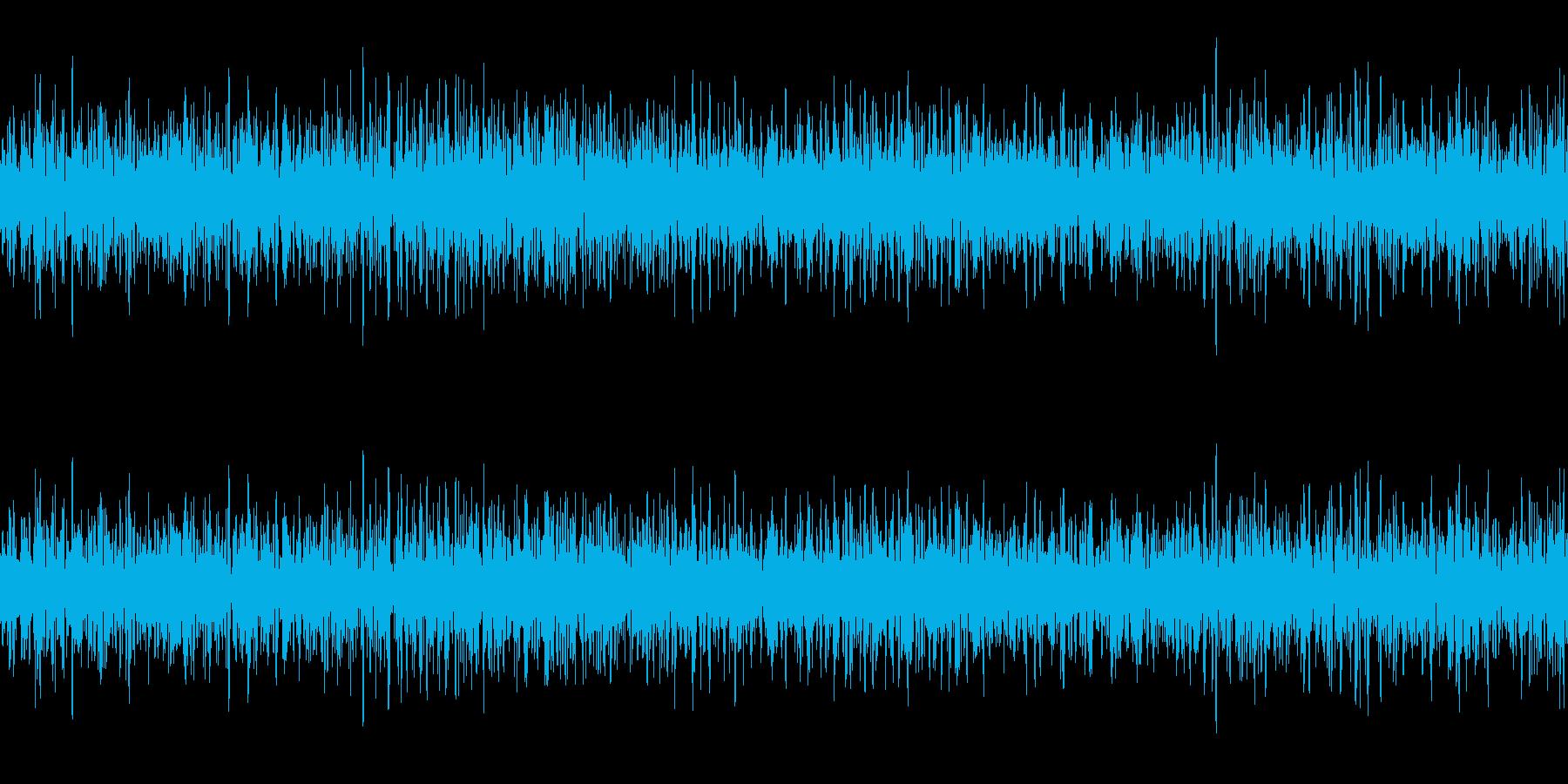 換気扇 ファンの回転音 ループ素材 ゴーの再生済みの波形