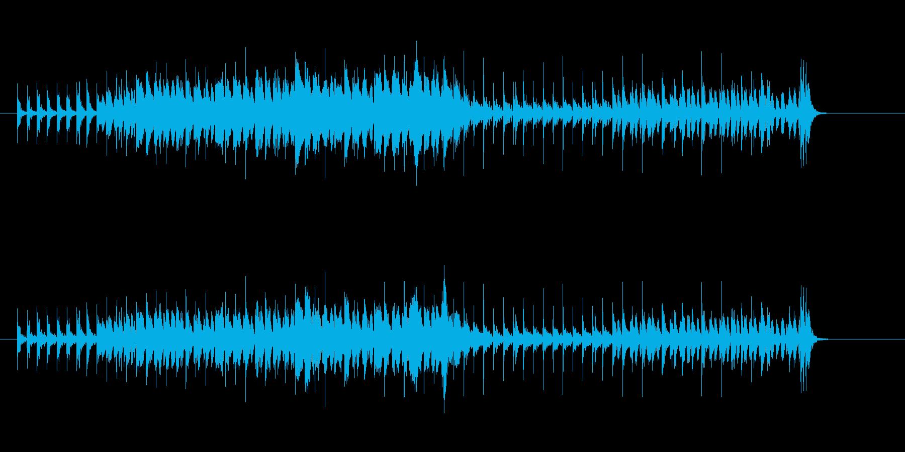 エレクトリック・ロック(近未来宇宙都市)の再生済みの波形