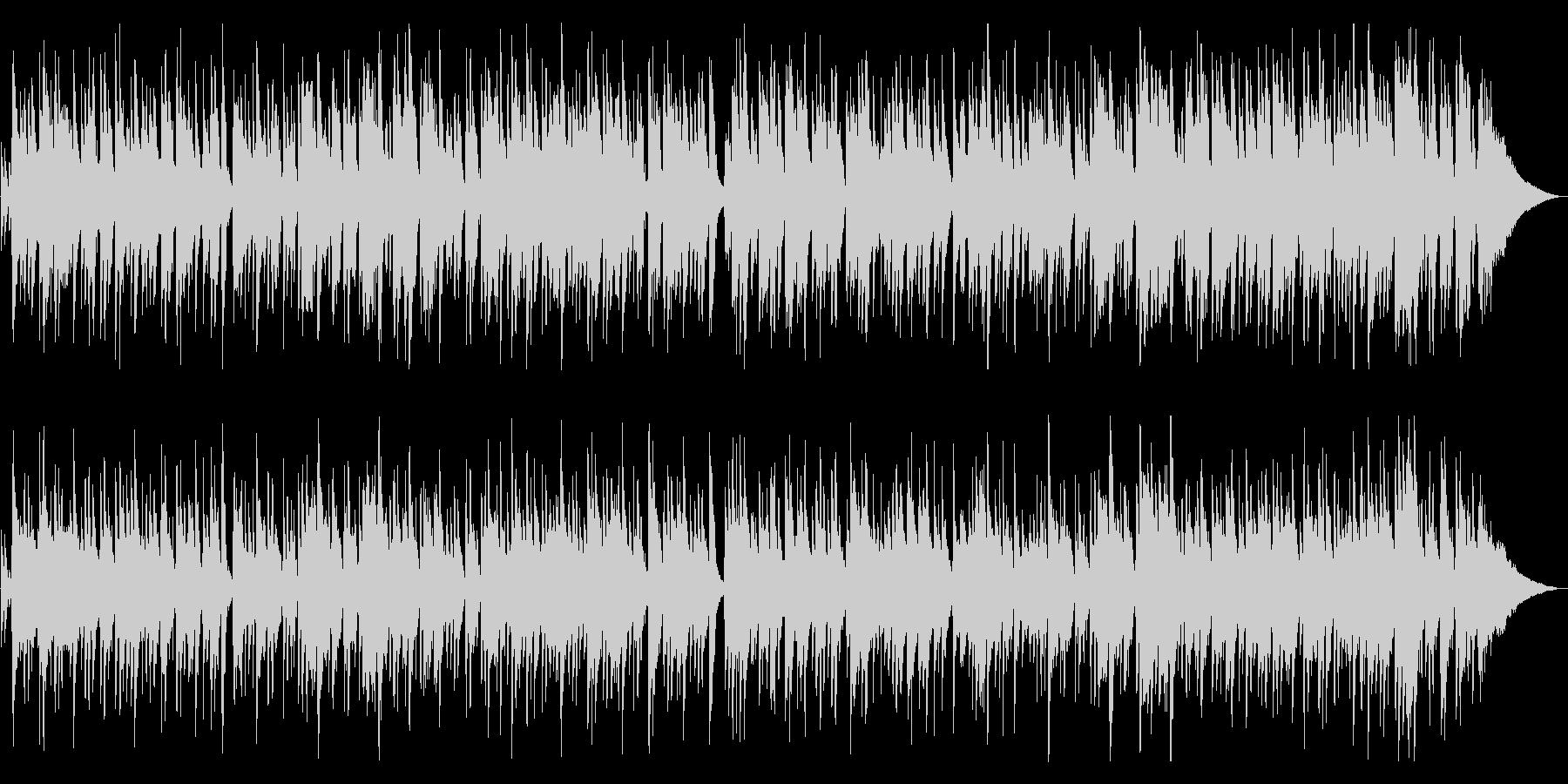 リラックスできる綺麗なピアノ曲の未再生の波形