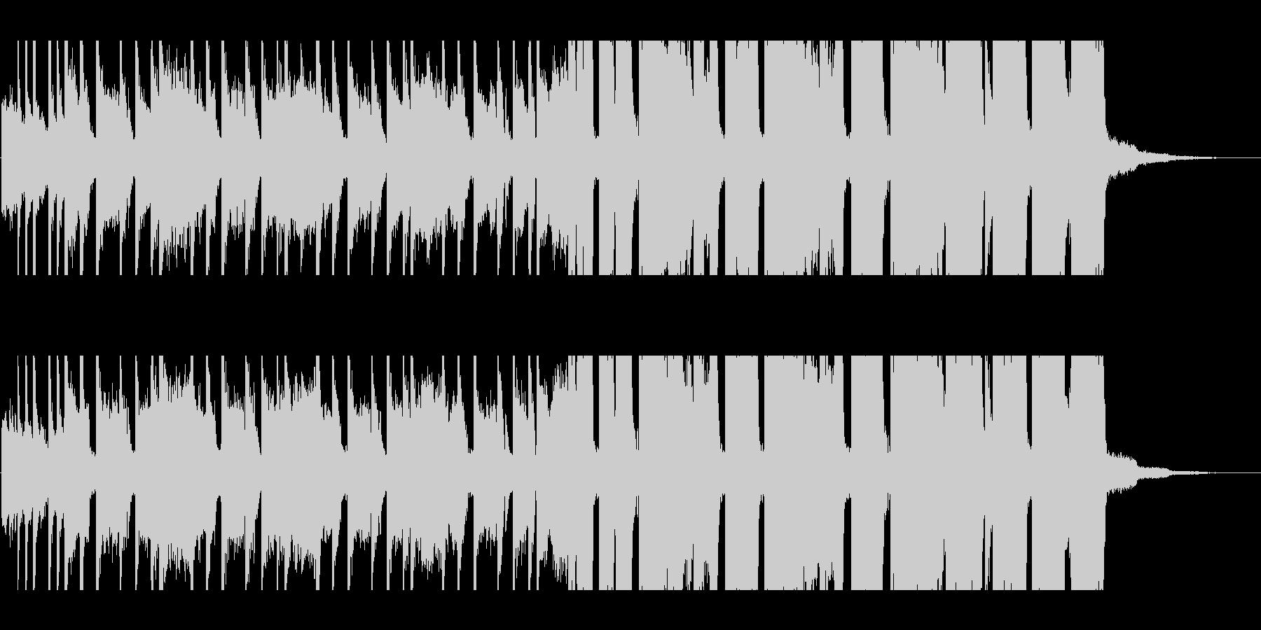 30秒・グランジギター・リフ・バトル1の未再生の波形