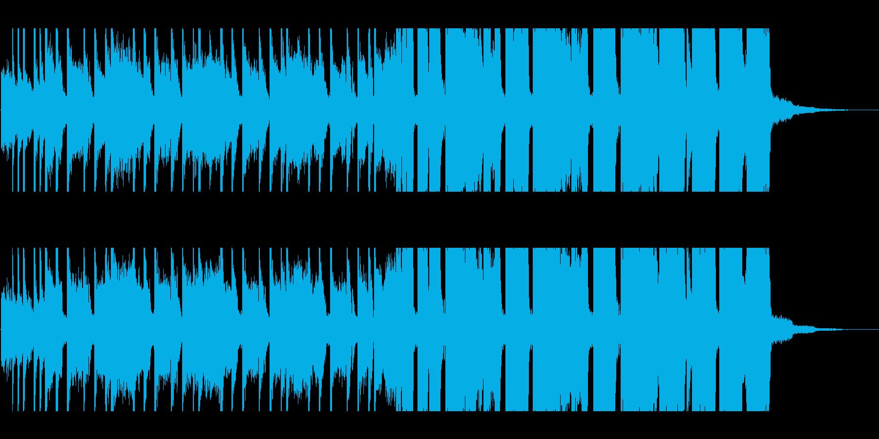 30秒・グランジギター・リフ・バトル1の再生済みの波形