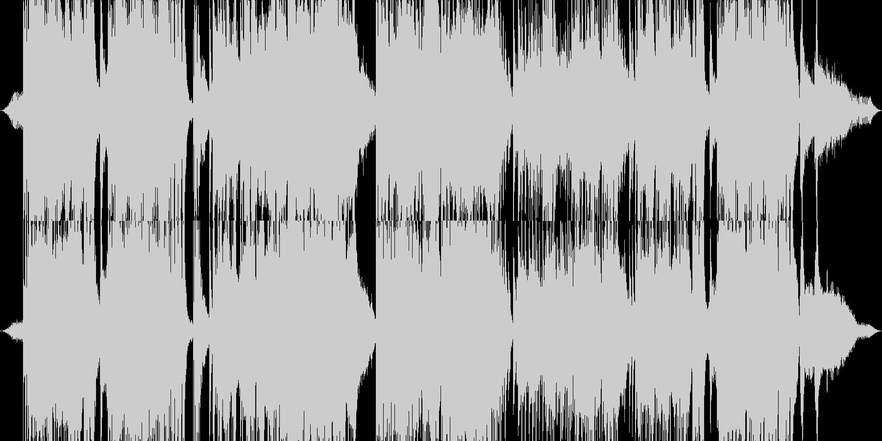 「森」をイメージしたヒーリング・サウンドの未再生の波形