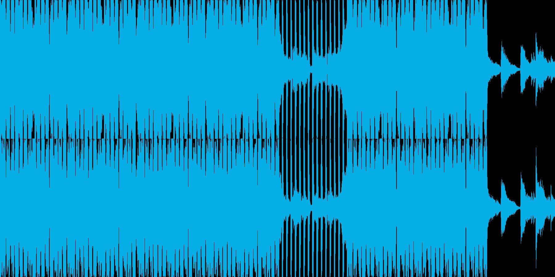 【ピアノ】悲しげ EDM【ダンス】の再生済みの波形