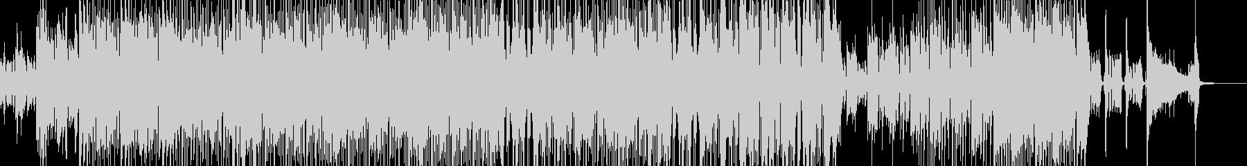 賑やかでホコ天テイストなスカの未再生の波形