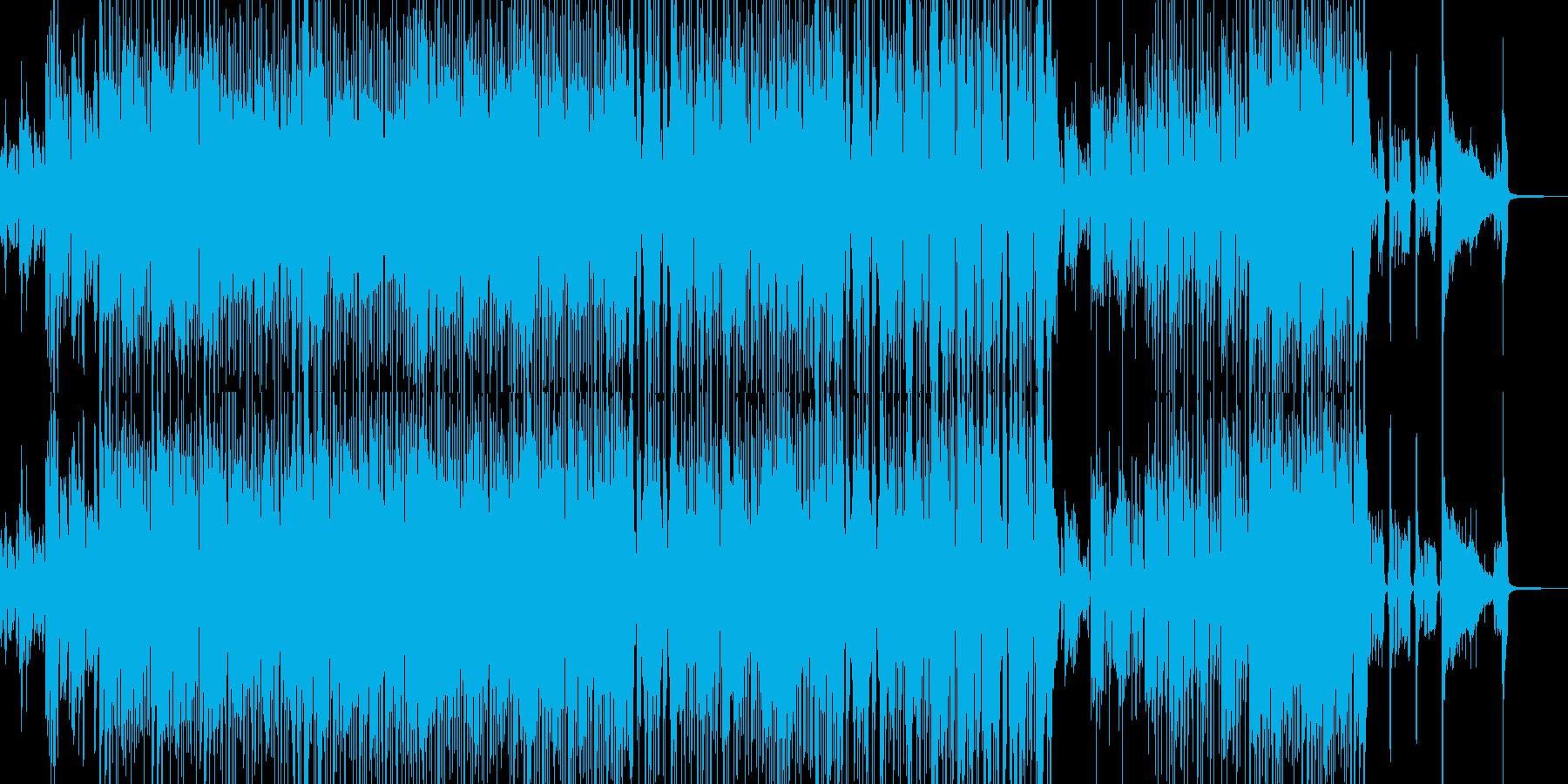 賑やかでホコ天テイストなスカの再生済みの波形