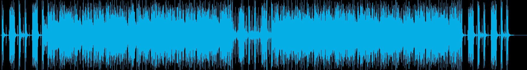 軽やかなギターポップサウンドの再生済みの波形