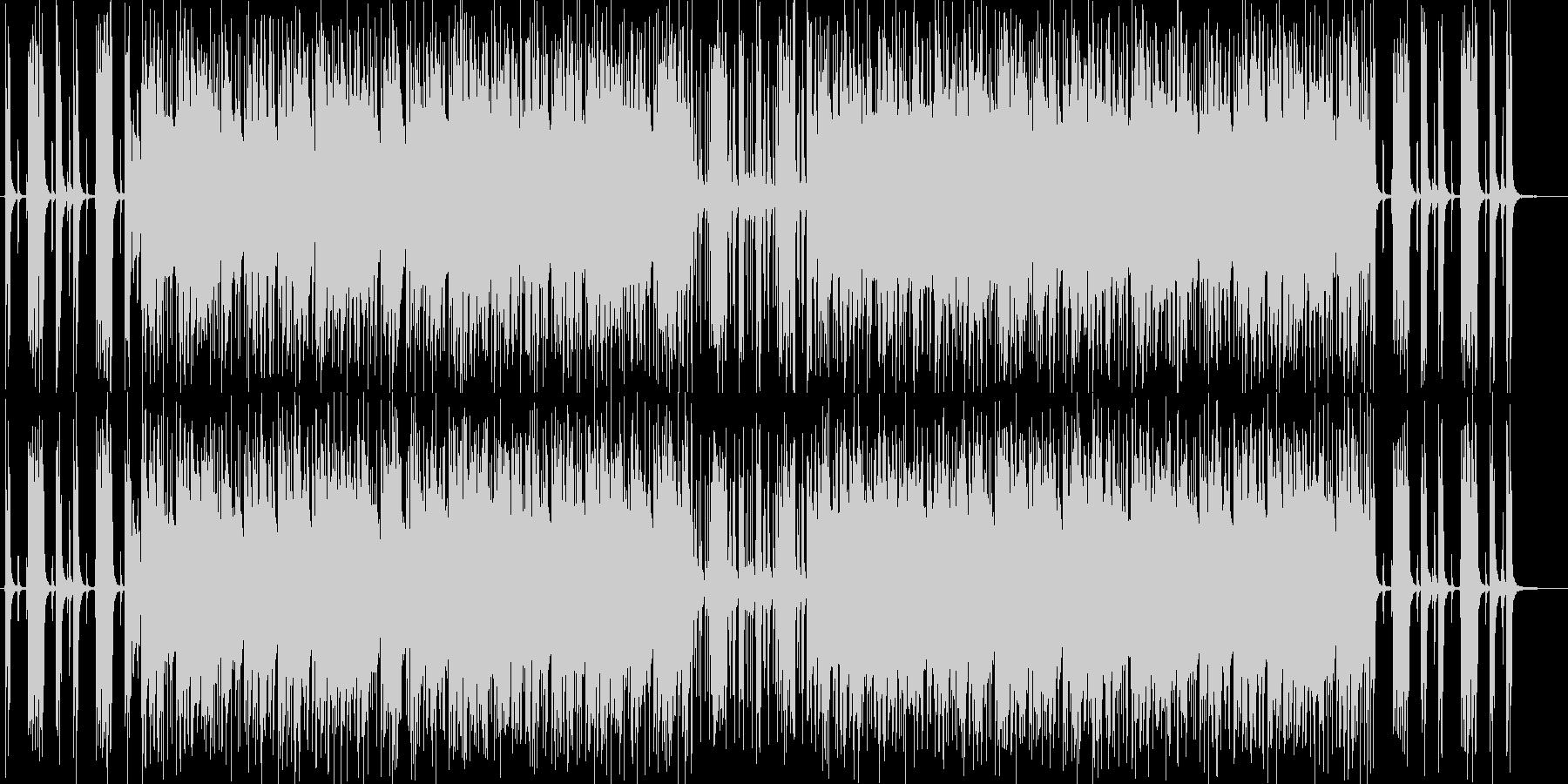 軽やかなギターポップサウンドの未再生の波形