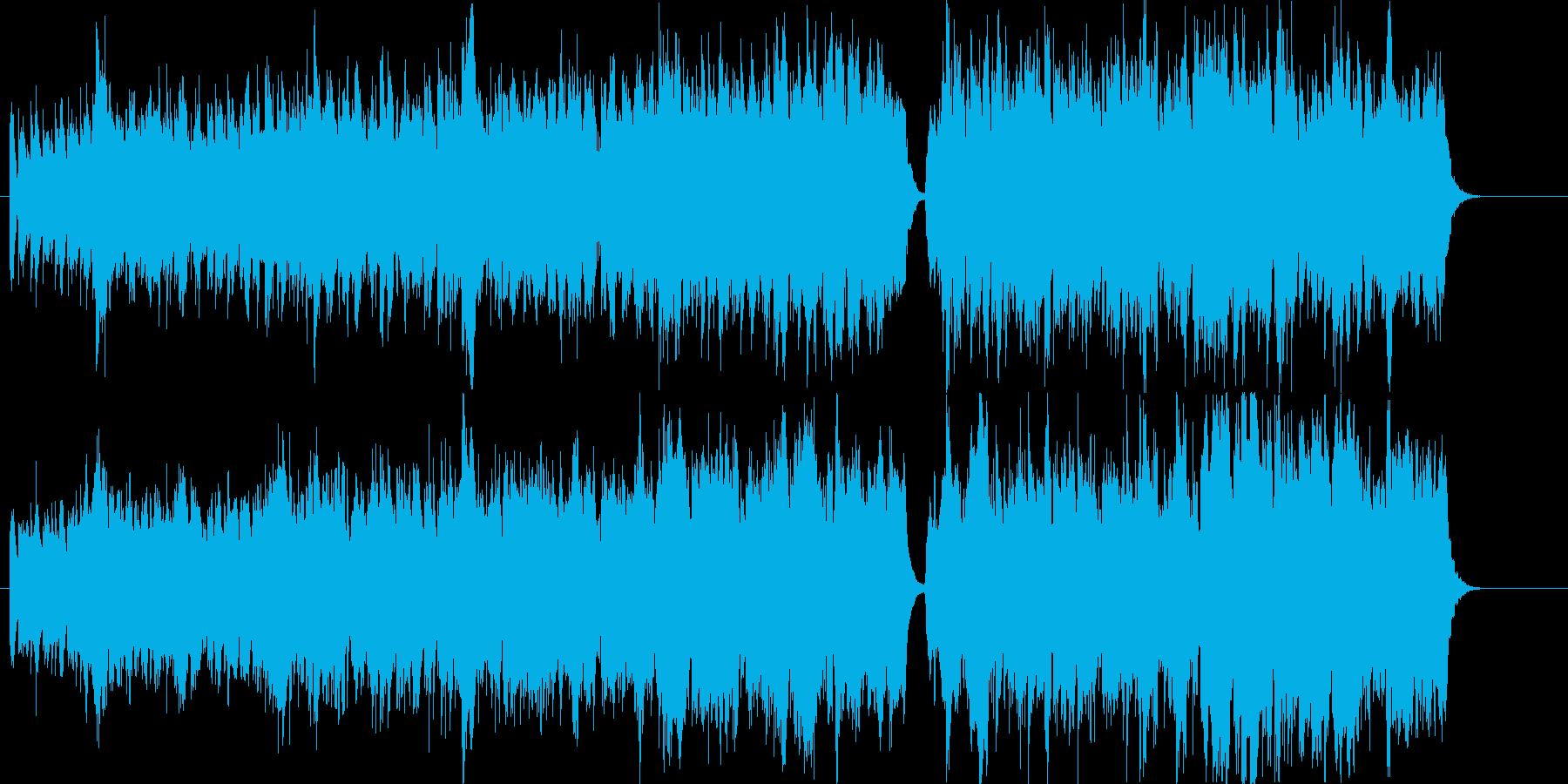 北欧民族音楽風。鬱蒼と茂る森や時の流れ…の再生済みの波形