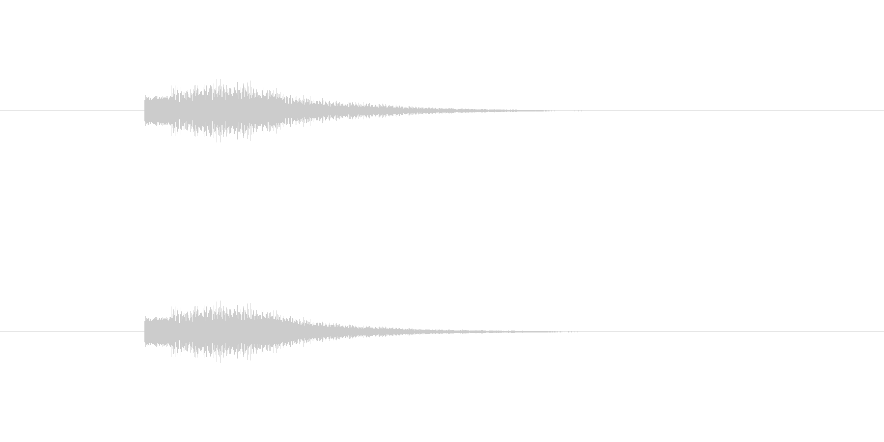 【ショートブリッジ20-6】の未再生の波形