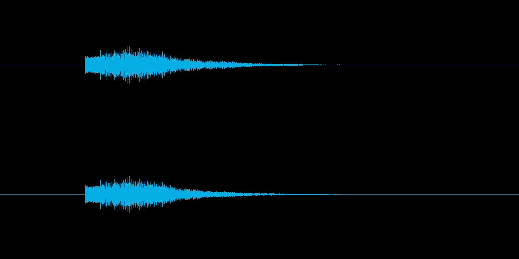 【ショートブリッジ20-6】の再生済みの波形