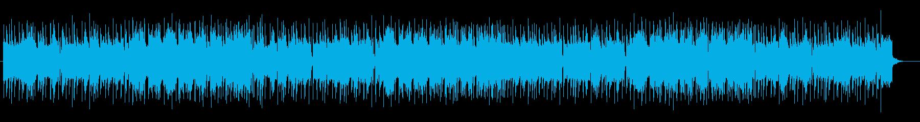 陽気で朗らかなポップサウンドの再生済みの波形
