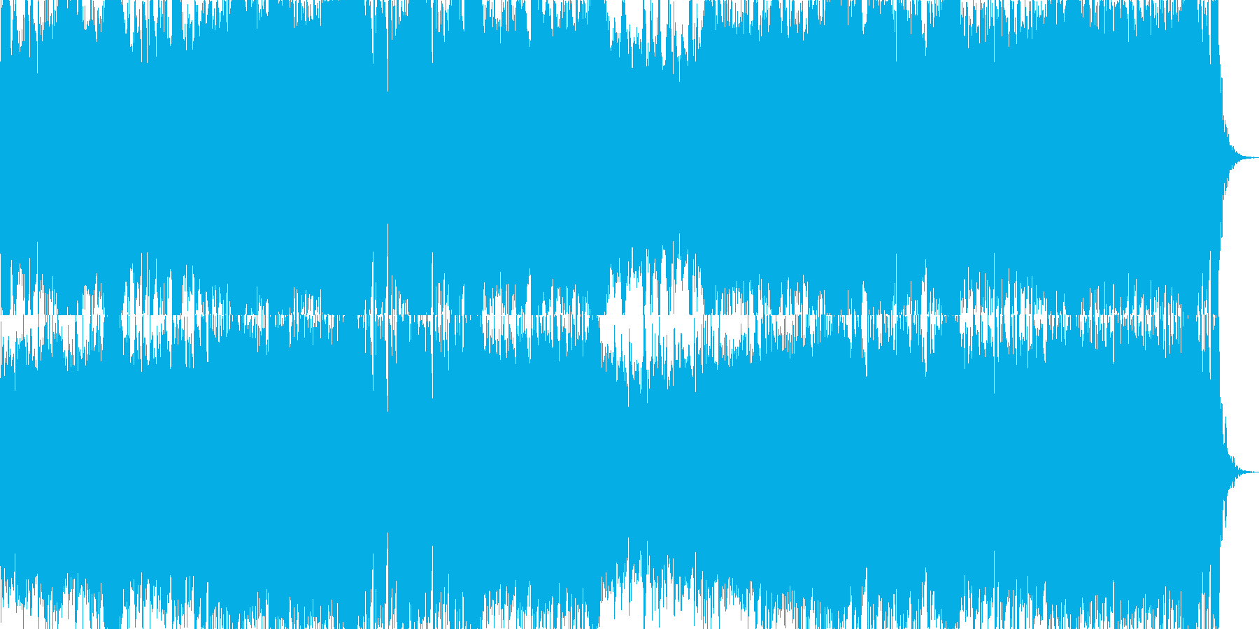 映画・ゲーム用バトルBGM25の再生済みの波形