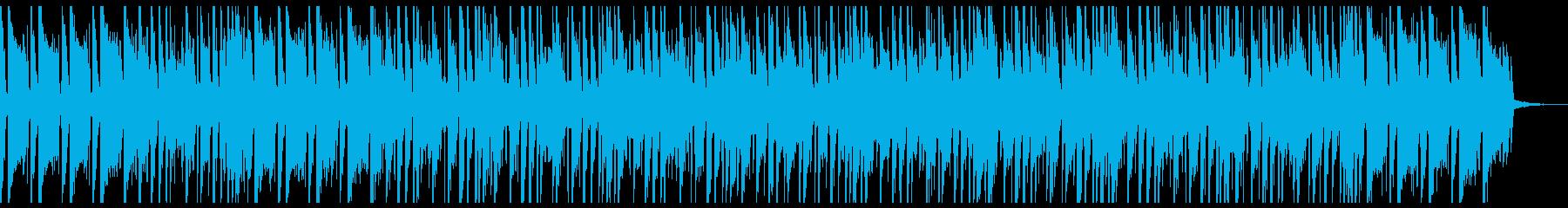 ファンクでゴージャスなアップビートの再生済みの波形