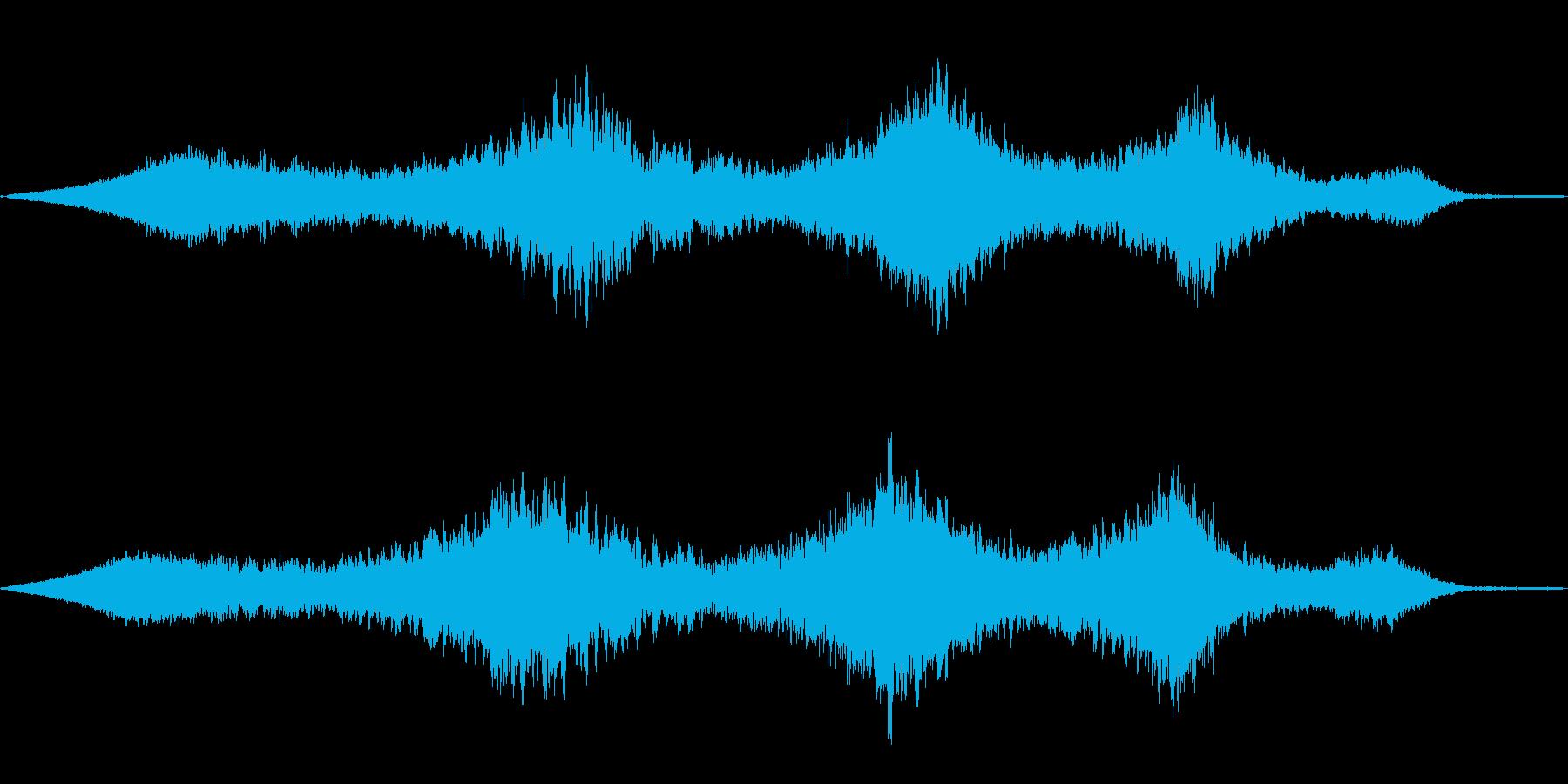ヒューーン(不思議な)の再生済みの波形