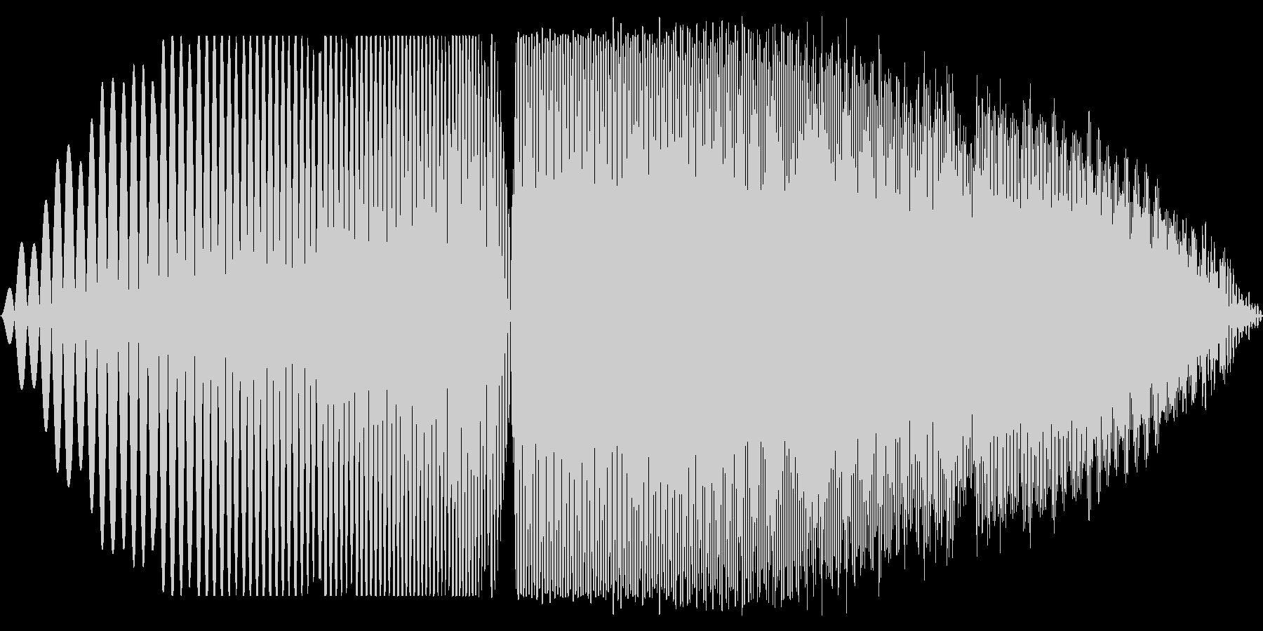プオオオ(膨らむ音 ちからため)の未再生の波形