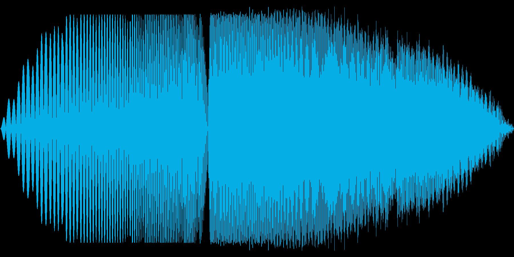 プオオオ(膨らむ音 ちからため)の再生済みの波形