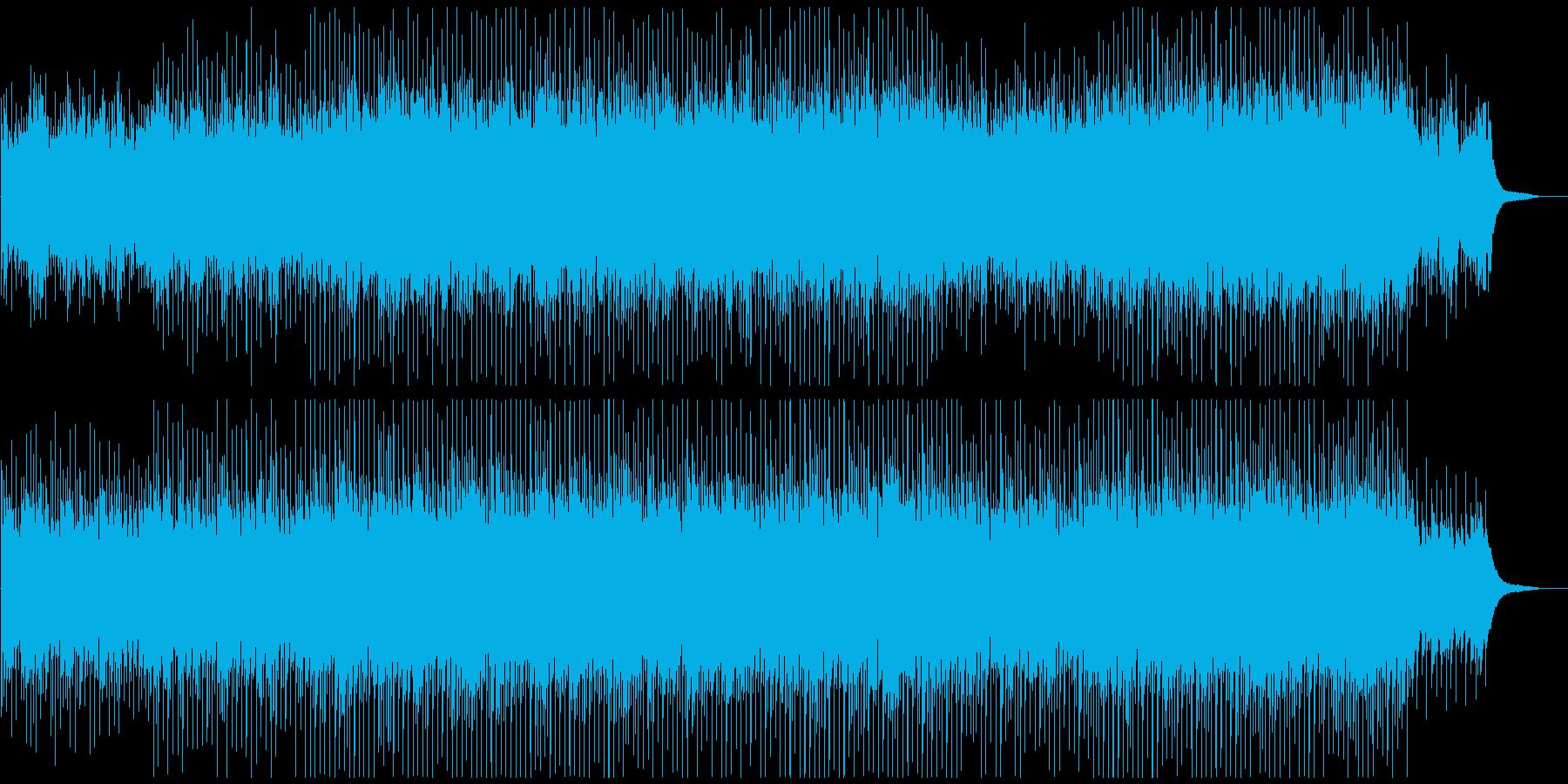 企業VPや映像にピアノ 明るく優しいの再生済みの波形