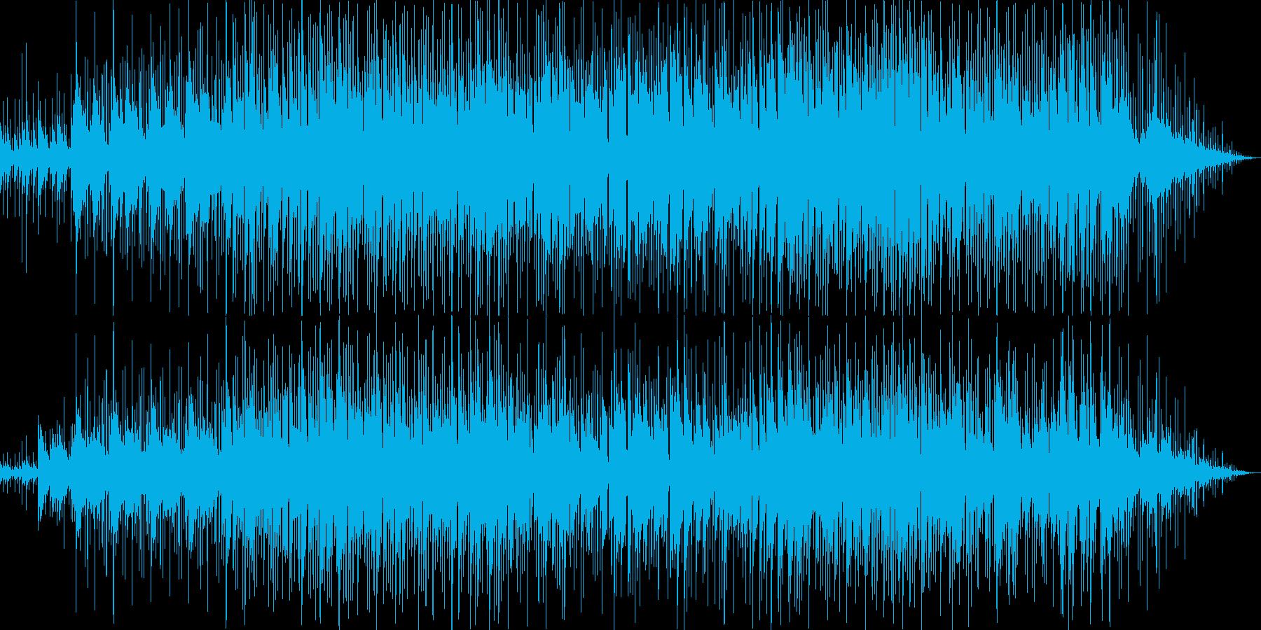 ゆったりしたシンセ・ギターサウンドの再生済みの波形