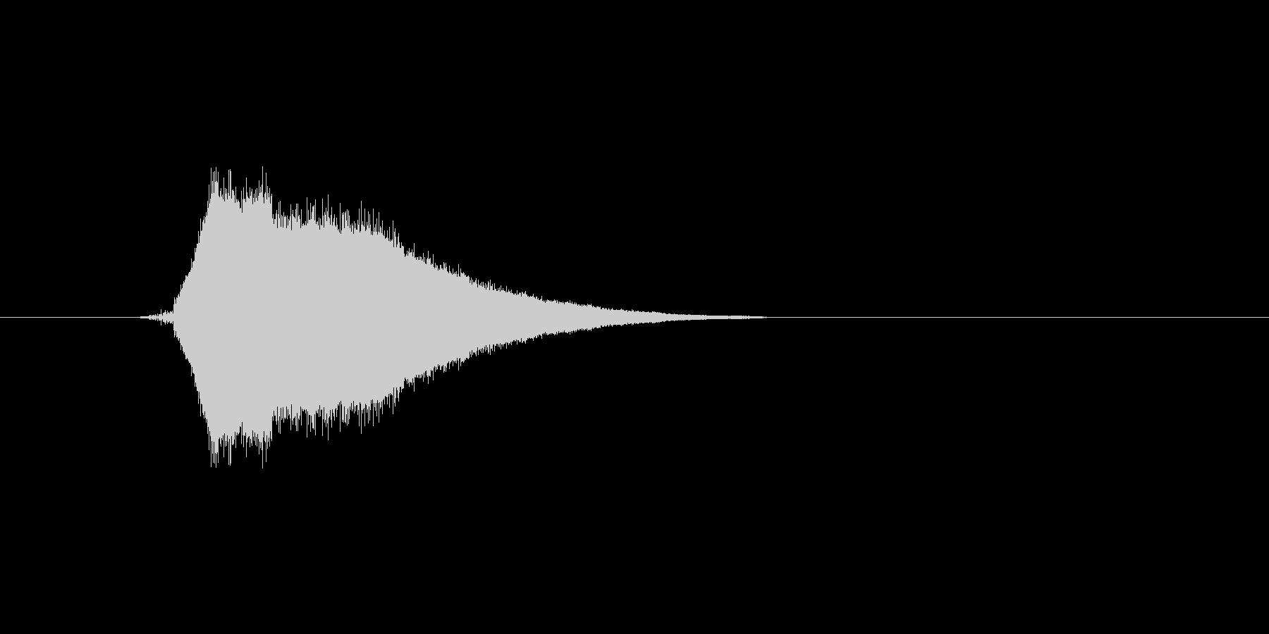 ファミコン風効果音カーソル系です 01の未再生の波形