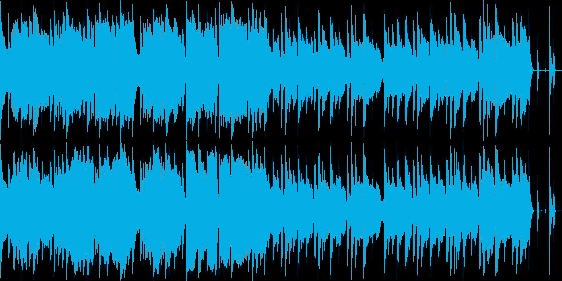 サスペンスドラマの犯人自供シーンBGMの再生済みの波形