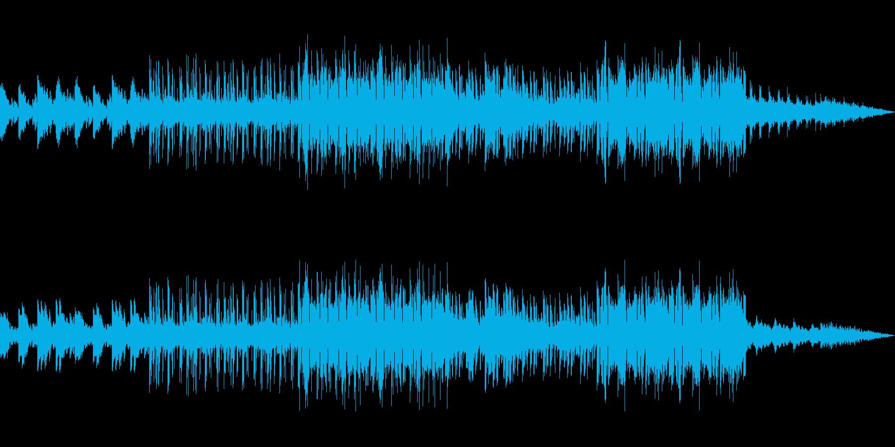 切ない雰囲気のチルアンビエントの再生済みの波形