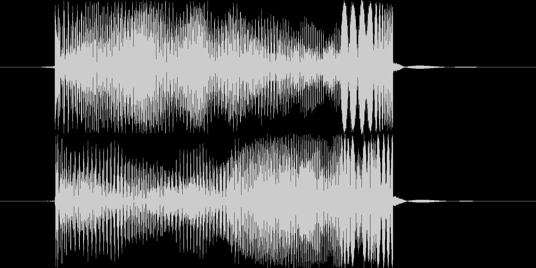 ポーィの未再生の波形