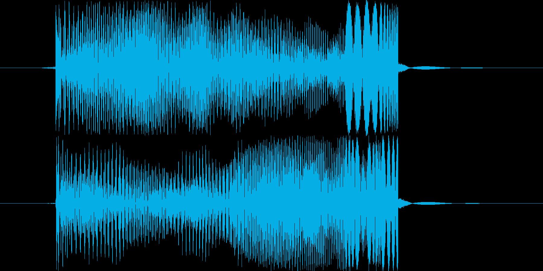 ポーィの再生済みの波形