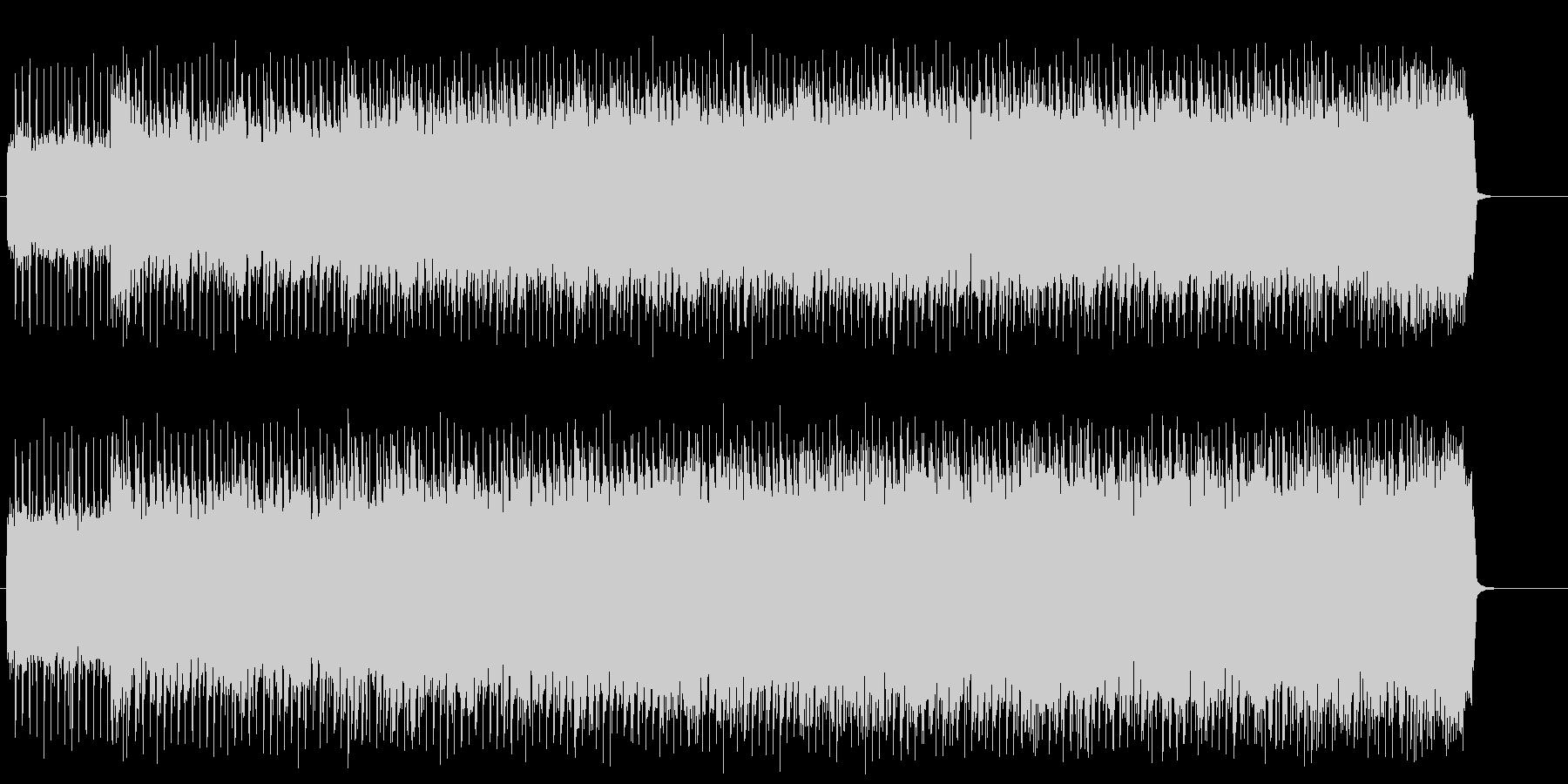 スポーティーなアメリカン・ロック/ハードの未再生の波形