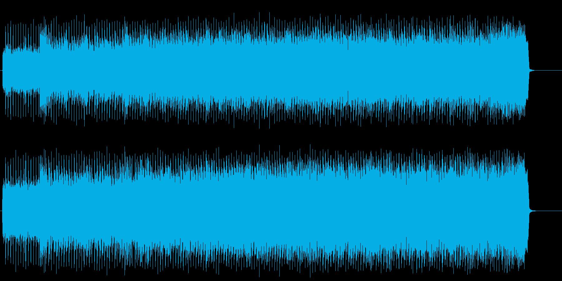 スポーティーなアメリカン・ロック/ハードの再生済みの波形