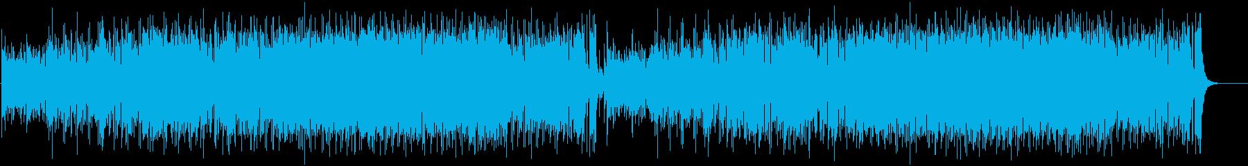 お洒落でムードのあるジャズの曲の再生済みの波形