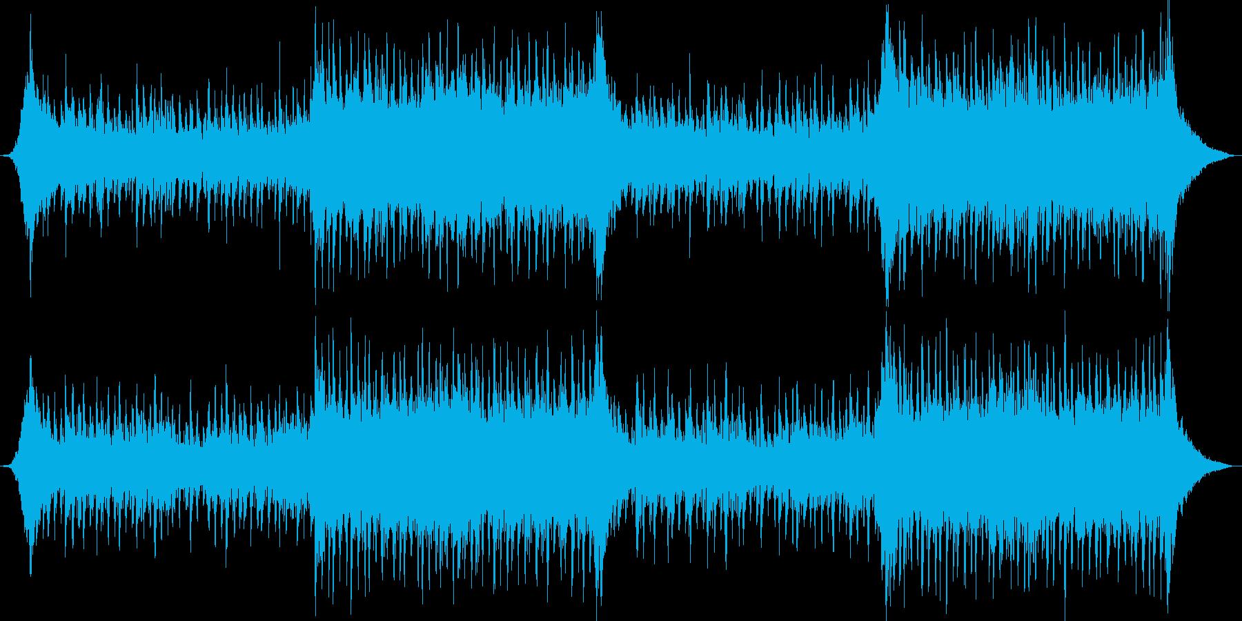 企業VPや映像に、華やか、オーケストラ3の再生済みの波形