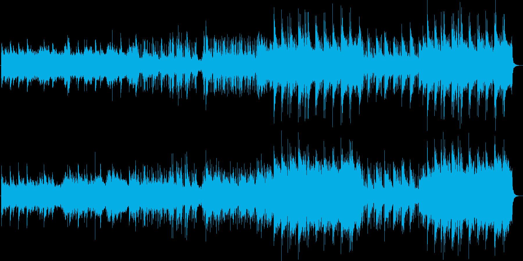 さわやかなオーケストラの再生済みの波形