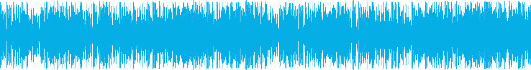 デジタルと生楽器を融合した日常的な曲の再生済みの波形
