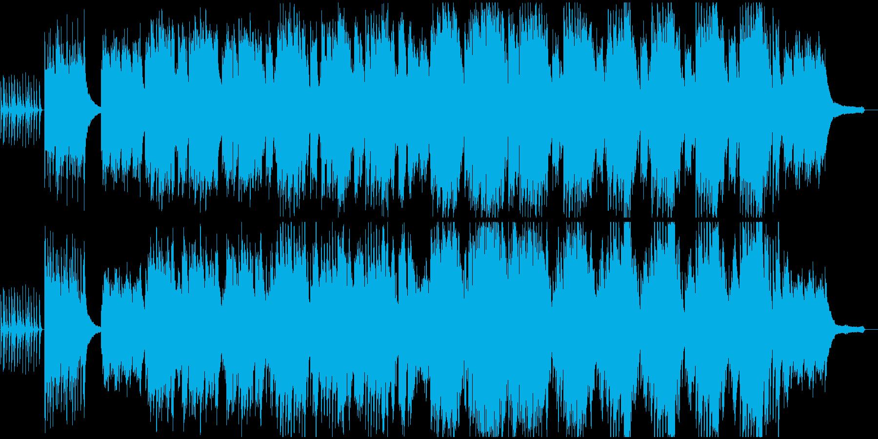 木琴とピアノが印象的な明るい歌の再生済みの波形