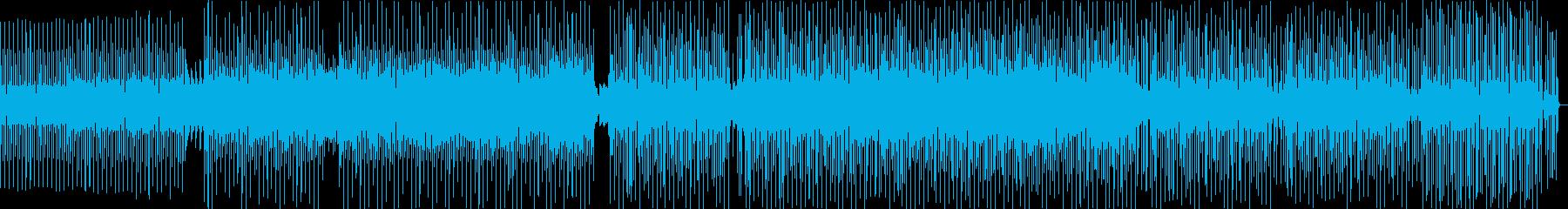 ダークでかっこいいなポップハウス曲の再生済みの波形