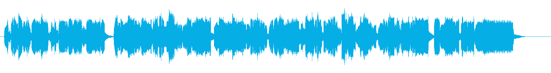 ルネサンス期の古楽器リコーダーの三重奏の再生済みの波形