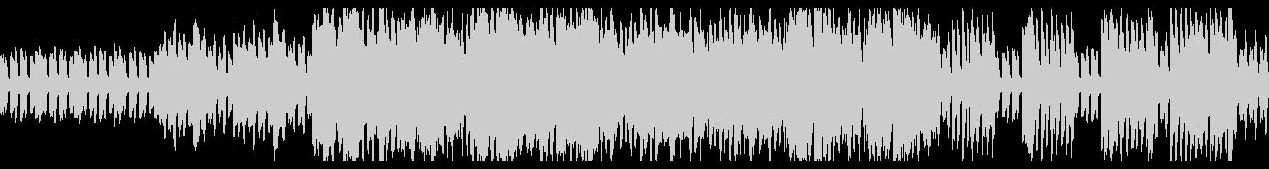 民族的な、ピアノ+ストリングスのBGMの未再生の波形