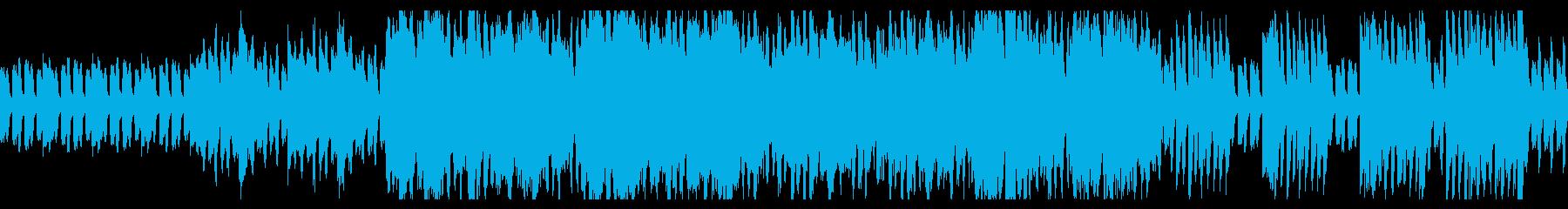 民族的な、ピアノ+ストリングスのBGMの再生済みの波形