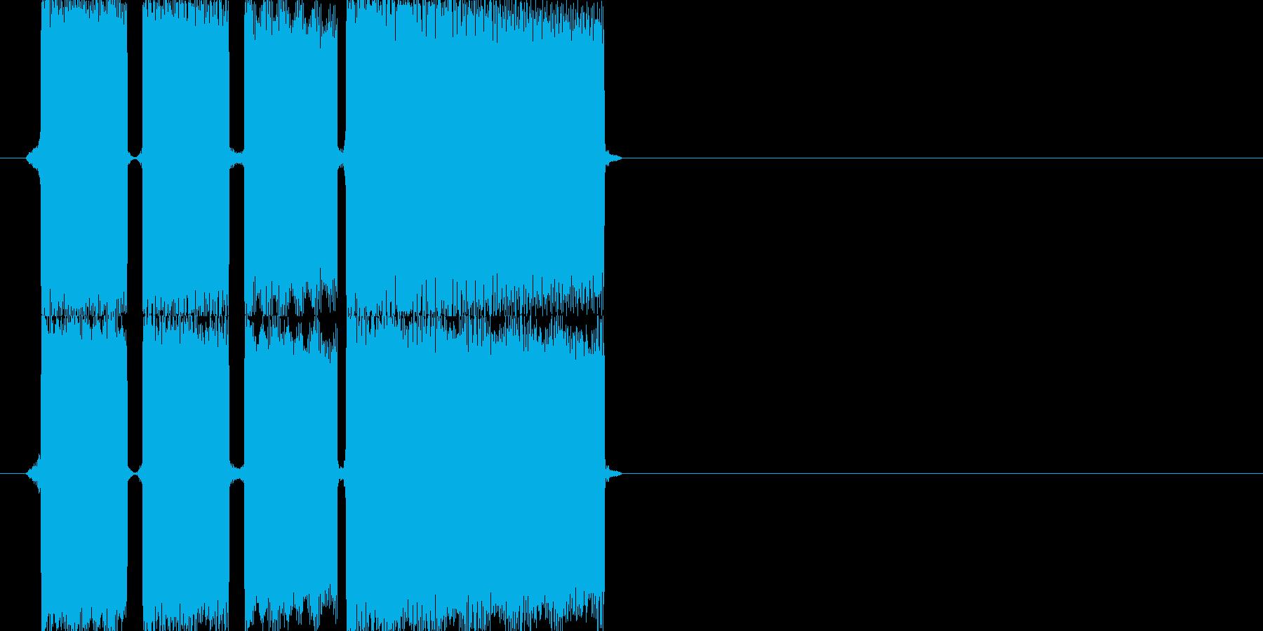 正解の時の効果音その2ですの再生済みの波形