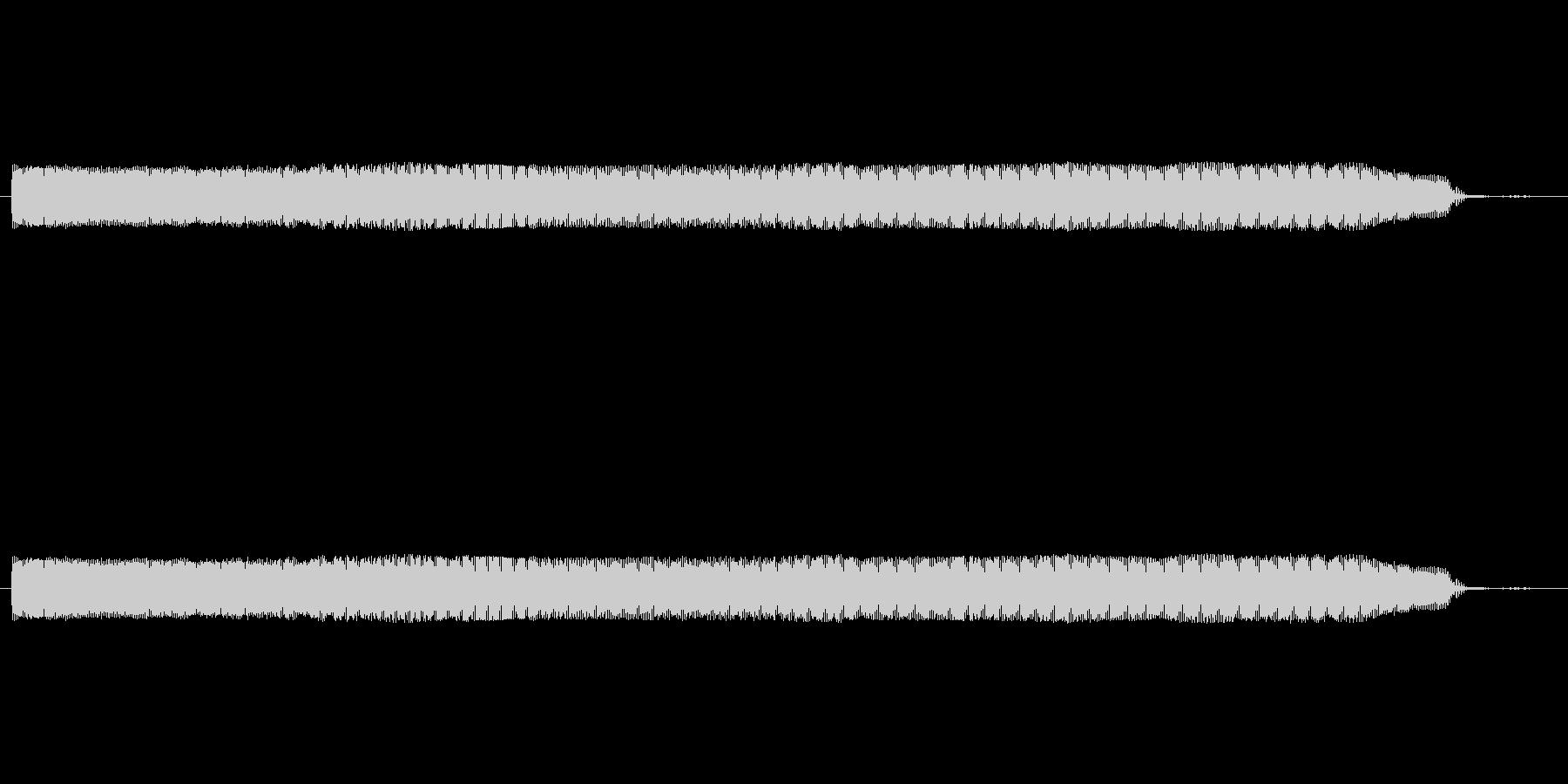 「電気ドリル(軽めのタイプ)」の未再生の波形