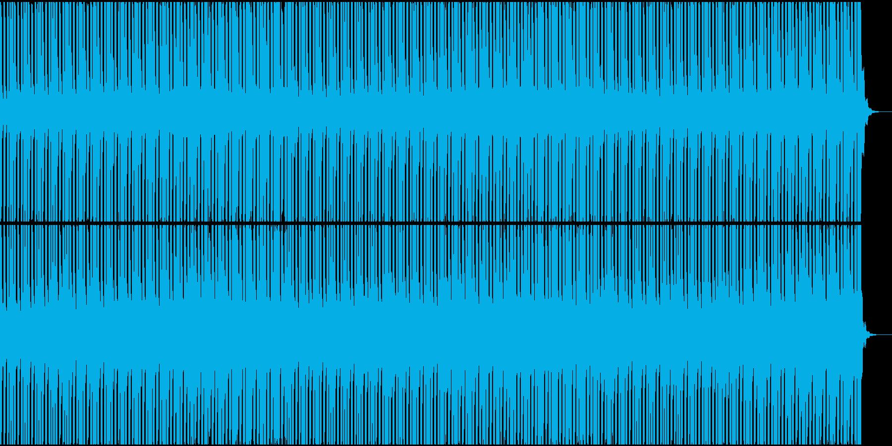 ケロケロフロッグのデンデンリズムの再生済みの波形
