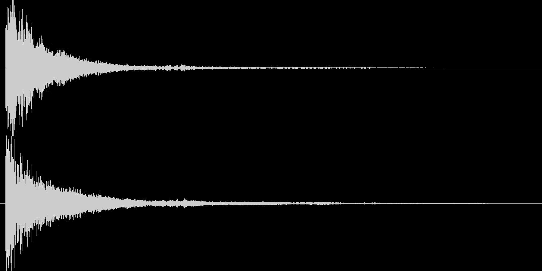 映画に合う効果音10の未再生の波形